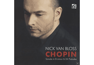 Nick Van Bloss - Piano Sonata - (CD)