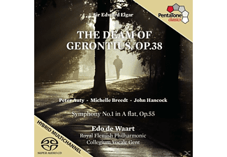Edo De Waar (dir) Royal Flemish Phiharmonic, Edo De & Royal Flemish Philharmonic Waart - The Dream of Gerontius - (SACD Hybrid)
