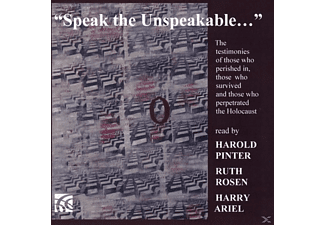 Harold Pinter, Ruth Rosen, Harry Ariel (SprSt) - Speak the Unspeakable - (CD)