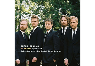 Sebastian Manz, Danish String Quartet - Klarinettenquintette - (CD)