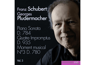 Georges Pludermacher (pno) - Klaviersonaten Vol.3/Sonate D.784 - (CD)