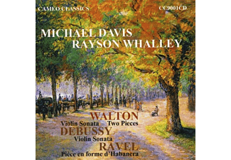Rayson Whalley (pno) Michael Davis - Music for Violin & Piano - (CD)