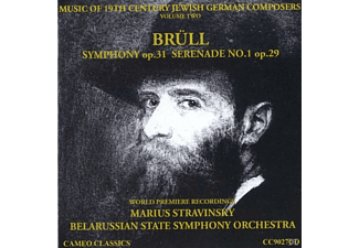 Marius Strav Belarussian State Symphony Orchestra - Music of 19th Century Jewish Germ - (CD)