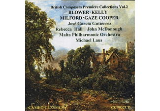 Rebecca Hall (Fl), John Mc Donough (Ob), Jose Garc - British Composers Premiere Collec - (CD)