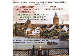 Jadassohn-pabst - Music of 19th Century Jewish Germ - (CD)
