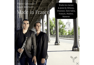 David Bismuth (pno) Pierre Genissson (clr) - Made In France - (CD)