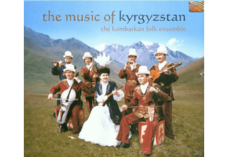 The Kambarkan Folk Ensemble - The Music Of Kyrgyzstan - (CD)
