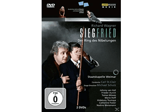 VARIOUS, St.Clair/Van Hall/Aurich/Staka Weimar - Siegfried - (DVD)