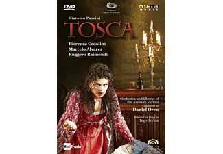 Fiorenza Cedolins, Marcelo Álvarez, Orchestra And Chorus Of The Arena Di Verona, Raimondi Ruggero - Tosca - (DVD)