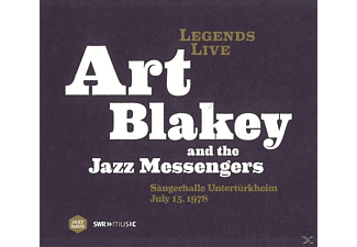 The Jazz Messengers, Art Blakey and the Jazz Messengers - Legends Live-Sängerhalle Untertürkheim 15.7.1978 - (CD)