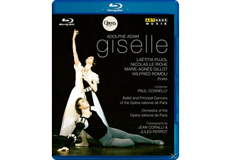 Connelly/Pujol/Le Riche/Gillot - Giselle - (Blu-ray)