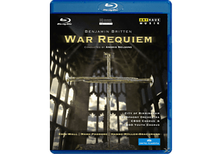 Wall/Padmore, Nelsons/City of Birmingham - War Requiem - (Blu-ray)