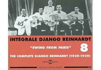Django Reinhardt - Swing From Paris 1938-1939 - (CD)
