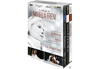 FRENI,MIRELLA & DOMINGO,PLACIDO, Mirella Freni - A Tribute To Mirella Freni - (DVD)