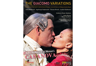 VARIOUS - The Giacomo Variations - (DVD)