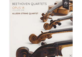 Allegri String Quartet - Beethoven Quartets Opus 18 Volume One - (CD)