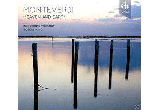 The King's Consort - Monteverdi: Heaven And Earth - (CD)