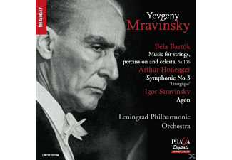 Mravinski, Orch.Philharmonique De Leningrad - Music For Strings,Percussion... - (SACD Hybrid)