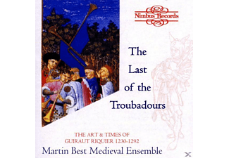 Martin Mediaeval Ensemble Best - Last Of The Troubadours - (CD)