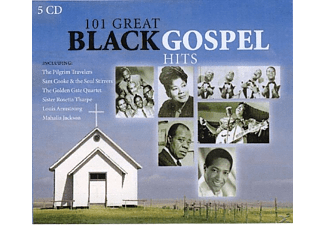 VARIOUS - 101 Great Black Gospel Hits - (CD)