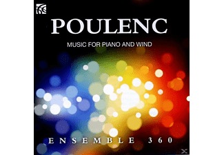 Ensemble 360 - Music For Piano & Wind - (CD)