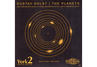 York2 (York,Fiona & York,John) - The Planets - (CD)