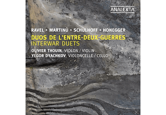 Dyachkov & Thouin - Interwar Duets - (CD)
