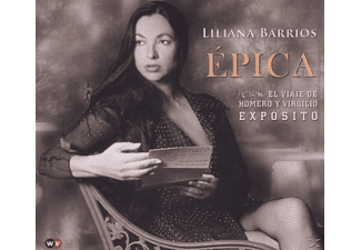 Liliana Barrios - Epica - (CD)