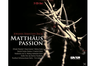 Lehmann - Matthäuspassion Bwv 244 - (CD)