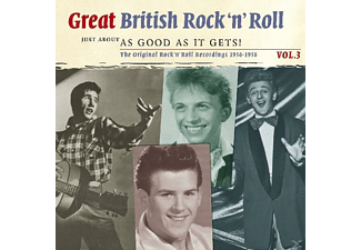 VARIOUS - Great British R'n'roll 3 - (CD)