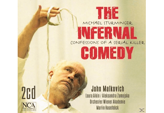 Haselboeck, Malkovich, Orch.Wiener Akademie - The Infernal Comedy - (CD)