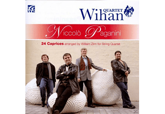 Wihan Quartet - 24 Caprices arranged by William Zinn for String Qu - (CD)