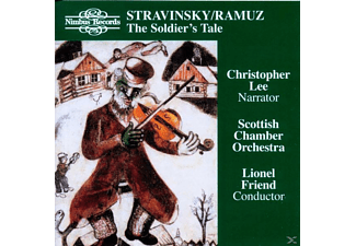 Christopher Lee, Scottish Chamber, Friend - L'Histoire Du Soldat - (CD)