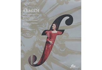 Paul Agnew, Isabelle Druet, William Christie, Laurent Naouri, Nathan Berg, D'oustrac Stephanie, Les Arts Florissants - Armide - (Blu-ray)