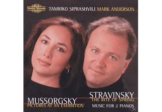 Mark Anderson, Tamriko Siprashvili - Pictures At An Exhibition/Piano Version - (CD)