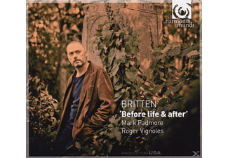 Mark Padmore - Before Life & After - (CD)