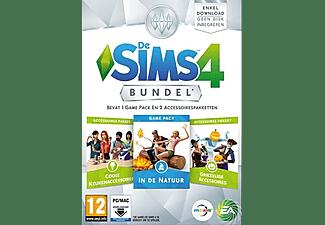 De Sims 4, Bundel Pack (Keuken, Griezel, Natuur) (Add-On) (DVD-Rom)