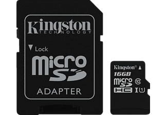 KINGSTON microSDHC UHS-I Class 10 16 GB