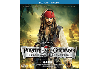 Pirates of the Caribbean: I främmande farvatten Äventyr Blu-ray