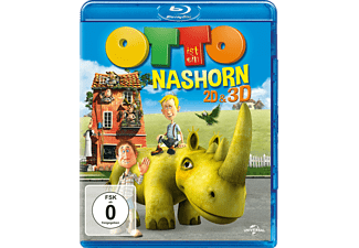 otto ist ein nashorn family kids 3d bd 2d bd blu ray. Black Bedroom Furniture Sets. Home Design Ideas