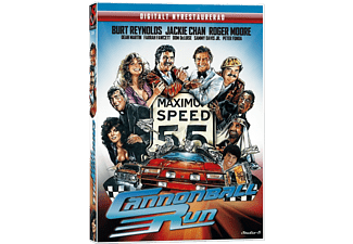 Cannonball Run Komedi DVD