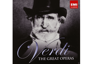 VARIOUS - The Great Operas - (CD)
