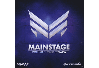 VARIOUS - Mainstage Vol.1 (Mixed By W&W) - (CD)