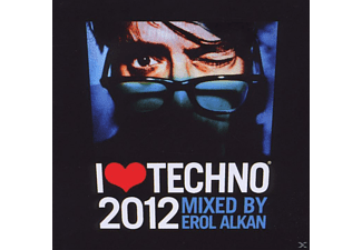 VARIOUS - I Love Techno 2012 - (CD)
