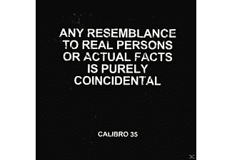 Calibro 35 - Any Resemblance To Real Persons Or Actual Facts Is Purely Coincidental [CD]