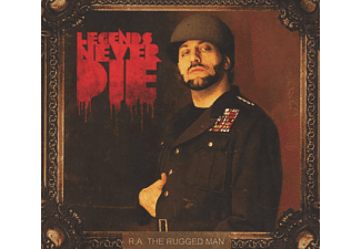 R.A.THE RUGGED MAN - Legends Never Die - (CD)