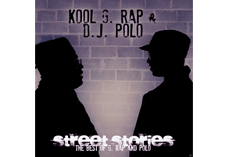 Dj Polo, Kool Grap - Street Stories - The Best Of G. Rap And Polo - (CD)