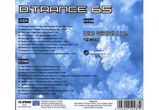 Various - D.Trance 65/Gary D.Presents... (Box-Set) [CD]