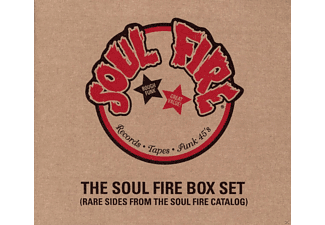 VARIOUS - Soul Fire Box Set - (CD)