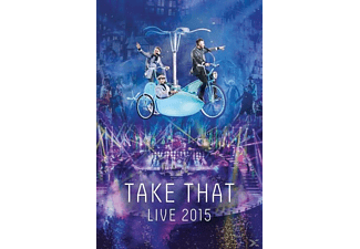 Take That Live 2015 DVD